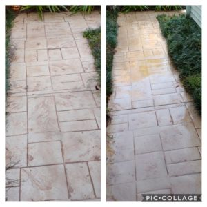 With our special mold and stain removing solution, we can take years off dirt and discolorations out of your bricks or masonry.
